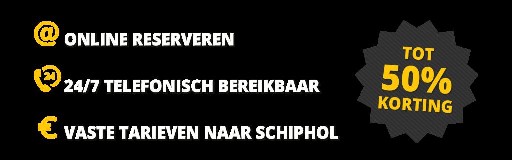 Goedkoop taxi delft schiphol Amsterdam