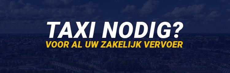 Taxi delft zakelijk vervoer