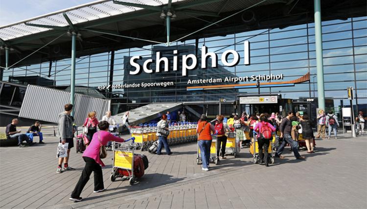 Taxi naar Schiphol