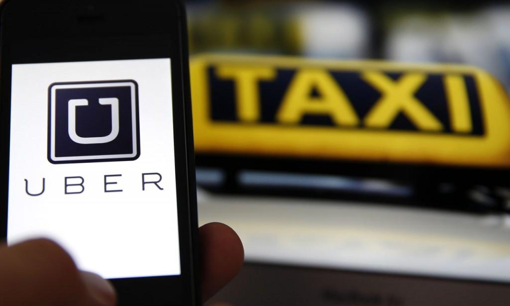 Uber taxi Delft